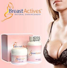 Pilules et crème actives du sein